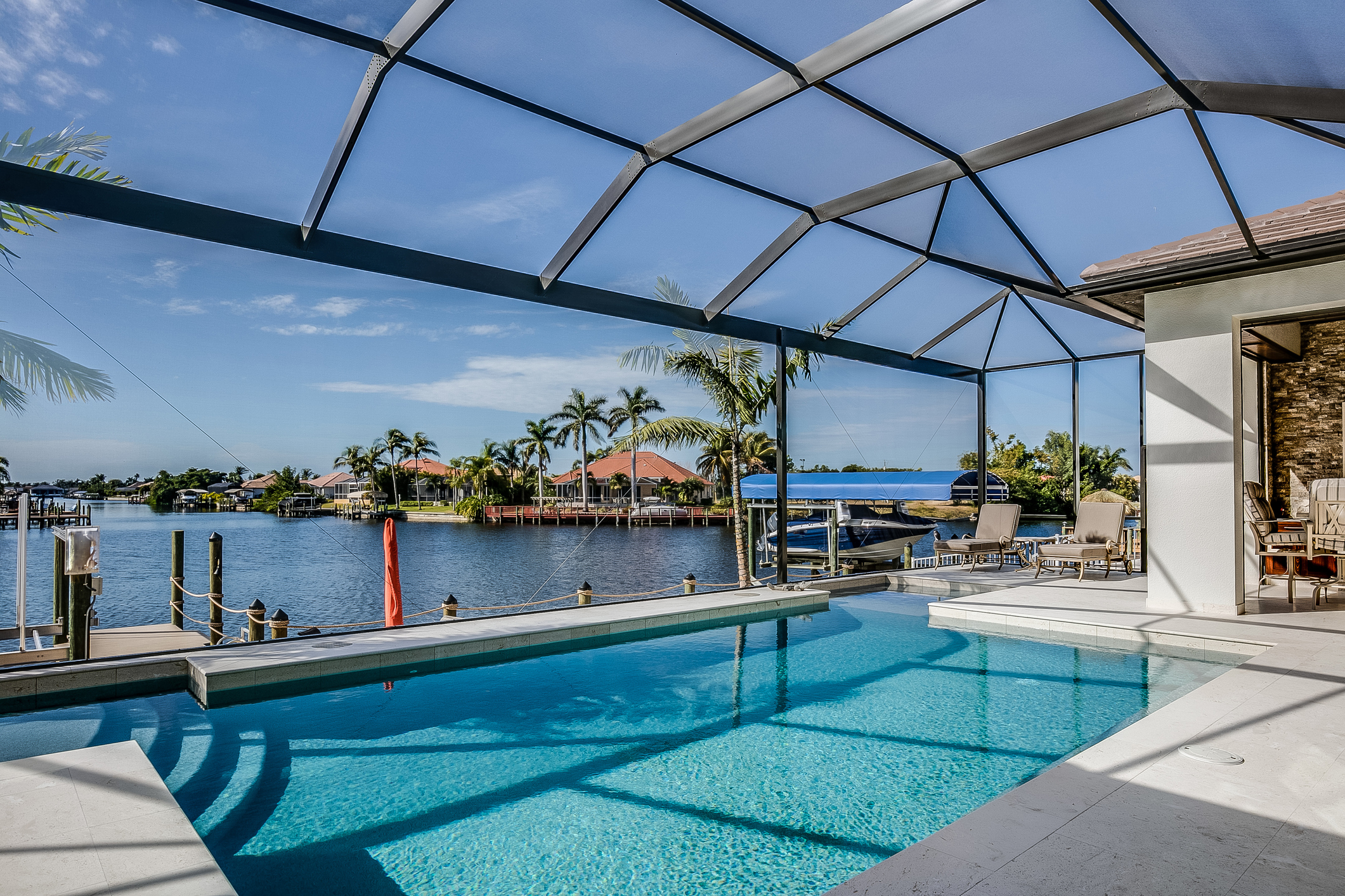 Enjoy The View With A Panoramic Pool Enclosure Tripod Aluminum